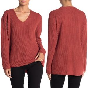 Madewell Woodside Wool Blend Pullover Sweater Med.